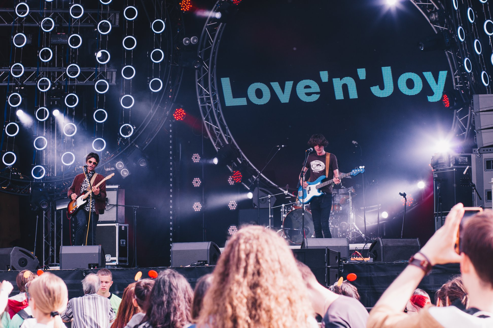 Love'n'Joy at Atlas Weekend festival 2018, Ukraine, Kiev
